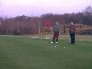 Quality approach shots at 10th hole, East Clare