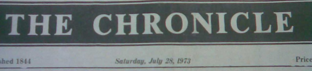 Coleraine Chronicle, Sat 28 July 1973