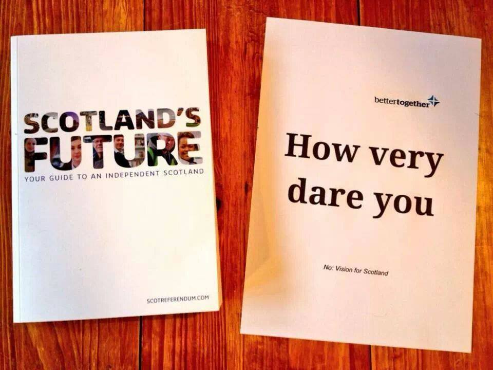 Alternative visions for Scotland